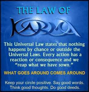 Rays Of Wisdom - The Universal Christ Now Speaks To Us And Our World - The Law Of Karma