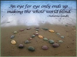 Rays Of Wisdom - Healers And Healing - An Eye For An Eye