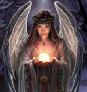 Angel with light - New Year's Prayer - Rays of Wisdom