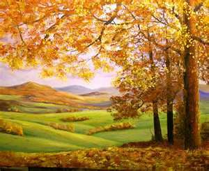 Autumn Scene - Words & Prayers of Comfort & Healing - Rays of Wisdom - Wisdom from the Tree of Life